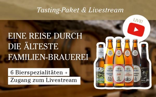 Tasting-Paket: Reise durch die älteste Familien-Brauerei